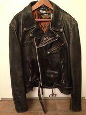 1990 Giacca New Jacket Giubbotto Moto Pelle Harley Davidson HD Original XXL