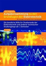 Aufgabensammlung zu den Grundlagen der Elektrotechnik von Gert Hagmann (2013, Taschenbuch)