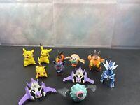 Mixed Lot of 11 McDonalds Pokemon Figures Nintendo Some Duplicates