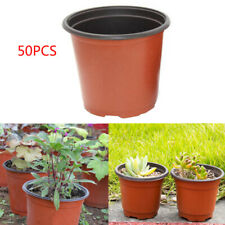 50X Plastic Nursery Pot Double Plant Seedling Holder Raising Block Pots New