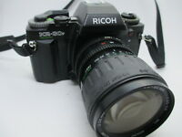 Ricoh KR30-SP SLR 35MM FIlm Camera with Vivitar 28-80MM MC Lens PERFECT