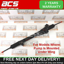 VAUXHALL SIGNUM POWER STEERING RACK 2003 TO 2008 (Pump Mounted Under Wing)