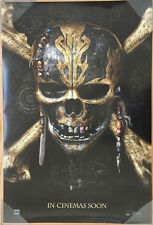 PIRATES OF THE CARIBBEAN DEAD MEN TELL NO TALES MOVIE POSTER INT ORIGINAL 27x40