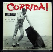 Manuel G De Arriba - Corrida LP VG+ DL 9764 Decca USA Mono Record Bull Fight