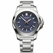 Victorinox Swiss Army Men's Watch I.N.O.X. Blue Dial 241724.1 Authorized Dealer