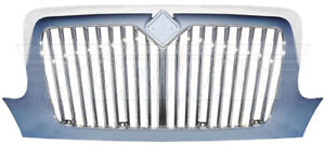INTERNATIONAL 3200 4100 4200 4300 RADIATOR GRILLE GRILL CHROME FRONT 242-5107