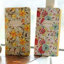 """Flower Love"" 1pc Beautiful Flower Pocket Notebook Vintage Kraft Diary Journal"