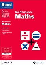 Bond: Maths: No Nonsense: 7-8 Years New Paperback Book Sarah Lindsay