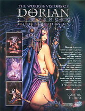 THE WORKS & VISIONS OF DORIAN CLEAVENGER 2002 PROMO PROMOTIONAL SELL SALE SHEET