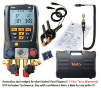 TESTO 557 Digital Refrigeration Gauge with Vacuum probe 60+ Builtin refrigerants