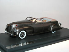 Lincoln Model K LeBaron Convertible Sedan (grey Metallic) 1938