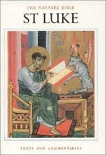 The Navarre Bible: St. Luke  - NEW with FREE US Shipping! - Navarre Commentary