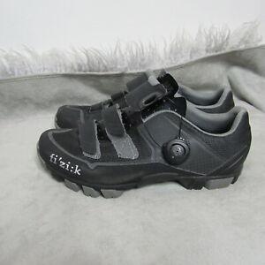 Fizik Mens Cycling Shoes Size EUR 40 Black M6 MTB Shoes Biking Mountain