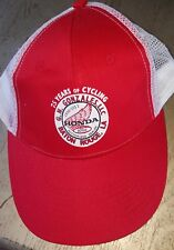 Vintage Gonzales Baton Rouge Cycle Honda Dealer Snap Back Farmer Trucker Cap Hat