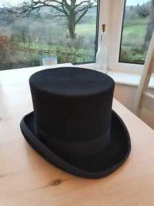 Dobell top hat small black wedding bridegroom groom groomsman
