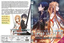 Eng Dub ~ Sword Art Online (Season 1 + 2 + Extra Edition + Offline SP) ~ 3-DVD