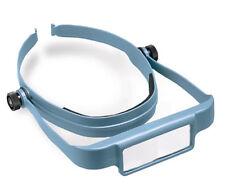 Donegan Blue OptiSight® Binocular Magnifying Visor Set w/3, 4, & 5 Power Lenses