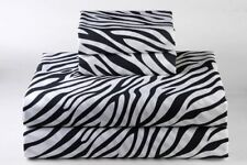 BEST BEDDING COLLECTION Egyptian Cotton 600 TC Zebra Print~ USA Sizes