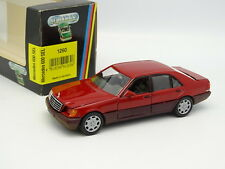 Schabak 1/43 - Mercedes 600 SEL W140 Rouge