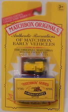 MJ7 Matchbox - 1993 Matchbox Originals - No.18A Caterpillar Bulldozer - Yellow