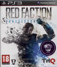 RED FACTION ARMAGEDDON - PS3 NUOVO E SIGILLATO, EDIZIONE UFFICIALE ITALIA
