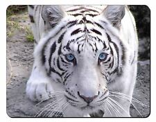 Siberian White Tiger Computer Mouse Mat Christmas Gift Idea, AT-14M