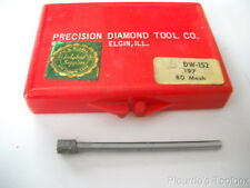 "New .197 Dia. Diamond Grinding Pin Mandrel, 80 Mesh, 1/8"" Shank, DW-152"