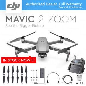 DJI MAVIC 2 ZOOM with 2x Optical ZOOM + Dolly Zoom. 12MP - Brand New!