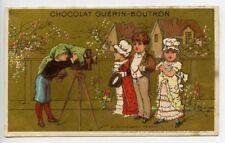 Chromos et découpis publicitaires Guérin-Boutron de collection