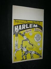 Original COLORCRAFT Printer's Copy HARLEM WIZARDS Goose Tatum Junior