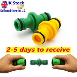 """2 Way Garden Hose Connector 1/2"""" Male to Male Adaptor Fits for Hozelock"""