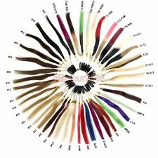 Color Ring/Color Chart  43 Colors Sample for Human Hair Extensions colour match