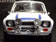1/18 FORD ESCORT RS 2000 MK1 TRIPPLE 9 BLUE & WHITE RARE MODEL CAR MKI RHD