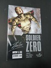 Stan Lee 's Soldier Zero # 1 Hastings Exclusive Variant Comic Boom 2010 Cornell
