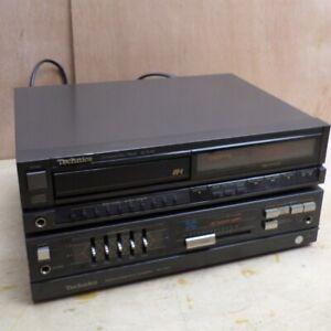 Technics SU-X50 Amplifier Amp w Phono Stage plus Matching SL-PJ30 CD Player