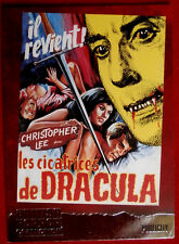 BRITISH HORROR COLLECTION - CHRISTOPHER LEE - SCARS OF DRACULA - FOIL Card F4