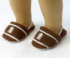 """18"""" Girl Boy Logan Doll Clothes Shoes Football Slippers fit American Girl"""