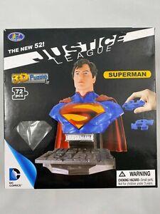 DC Comics JUSTICE LEAGUE New 52 DC Comics 3D Puzzle SUPERMAN Bust 72pcs NEW