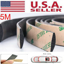 5m Seal Strip Trim For Car Front Rear Windshield Weatherstrip Rubber Waterproof Fits Saab