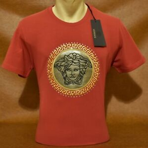 Brand New With Tags Men's VERSACE Slim Fit T-SHIRT Size M to 3XL