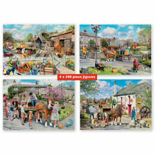 New ! Rag & Bone - 4 x 500 Piece Puzzle