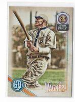 2018 Topps Gypsy Queen Baseball Legend SP high number #316 Honus Wagner