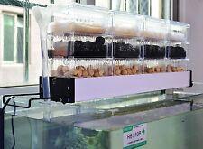 18 Boxes 3.5-4ft Aquarium Filter Trickle External Top Upper Tank Rain Drop Clear