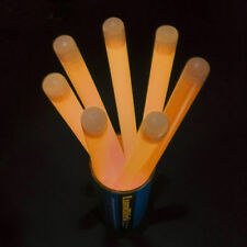 "20 New 12"" Premium Jumbo Glowstick Light Sticks Orange"