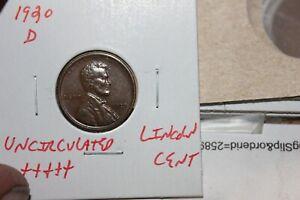 1920-D   UNC+++   LINCOLN CENT