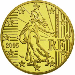 [#462131] Monnaie, France, 50 Euro Cent, 2005, FDC, Laiton, KM:1287