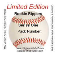 Mystery Chase Baseball Hobby Box - Rookie Rippers Limited Edition Topps & Bowman