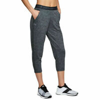 Under Armour UA HeatGear Ladies Play Up Twist Capri Grey Sports Pants