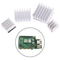 4pcs Aluminum Heatsink Radiator Cooler Kit for Raspberry Pi 4B with Stic_gu