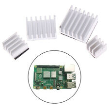 4pcs Aluminum Heatsink Radiator Cooler Kit for Raspberry Pi 4B with Stic Nh